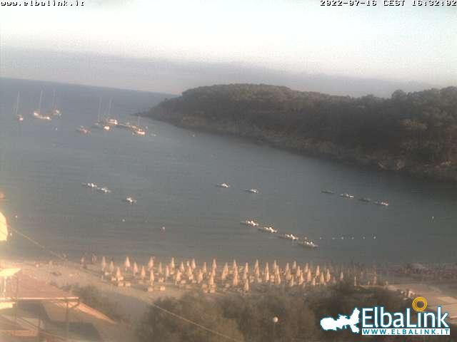 Webcam Beach of Fetovaia, Hotel da Alma