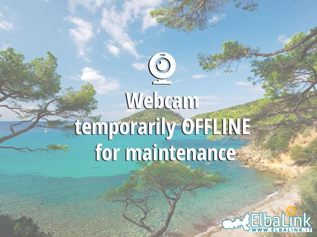 Webcam Beach of Lacona, Camping Tallinucci, Capoliveri
