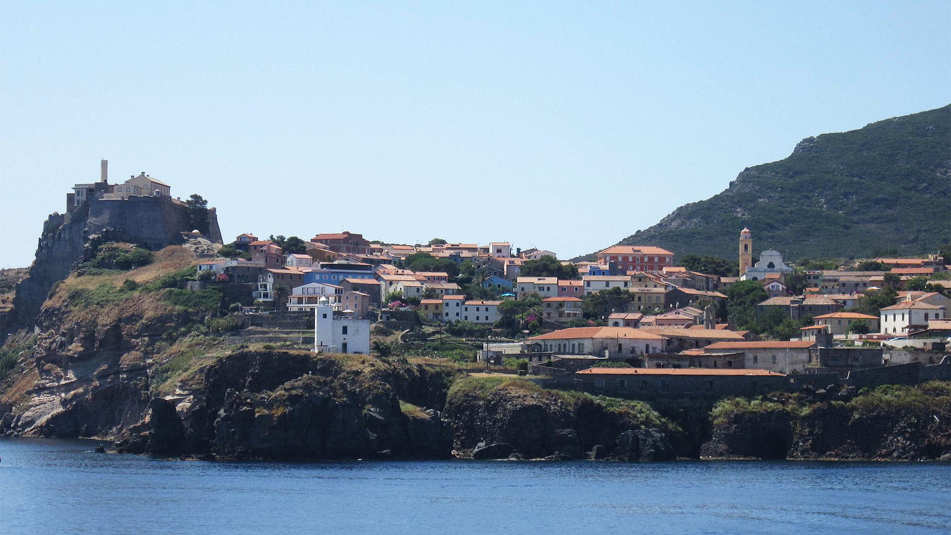 The Tuscan Archipelago Capraia Island