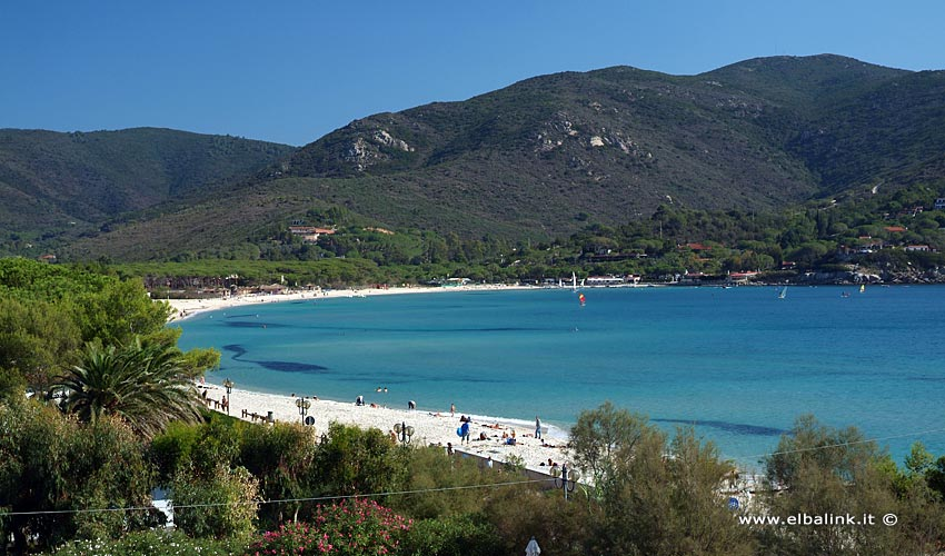 Spiaggia di Marina di Campo - Isola d'Elba