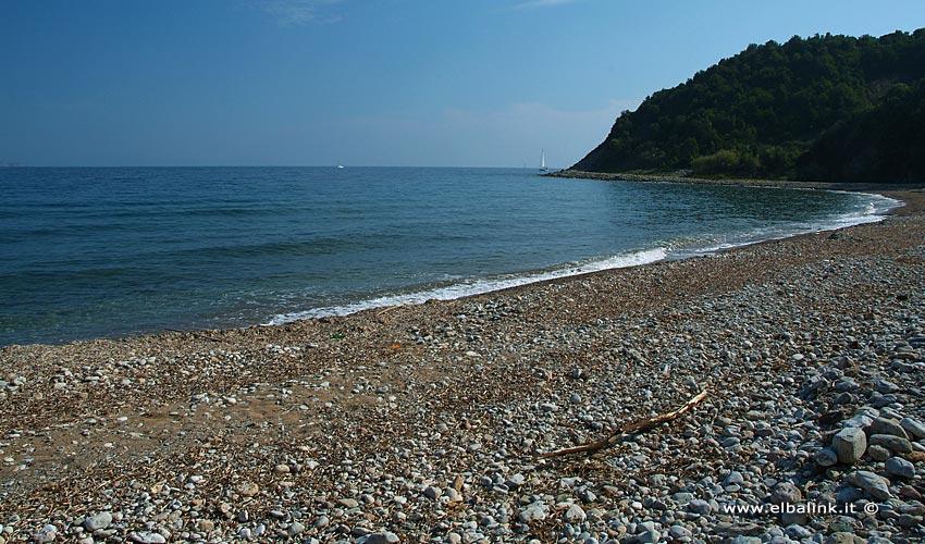 Spiaggia di Cala del Telegrafo o Fornacelle - Isola d'Elba