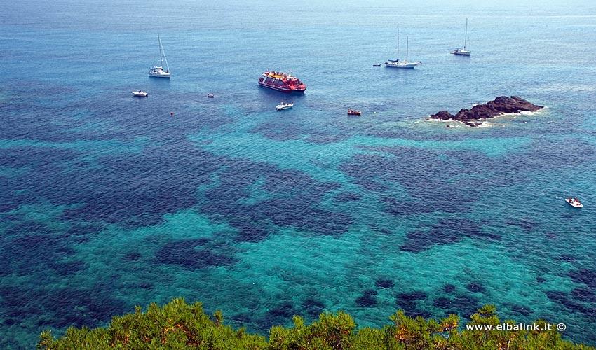 Scoglio dell'Ogliera a Pomonte - Isola d'Elba