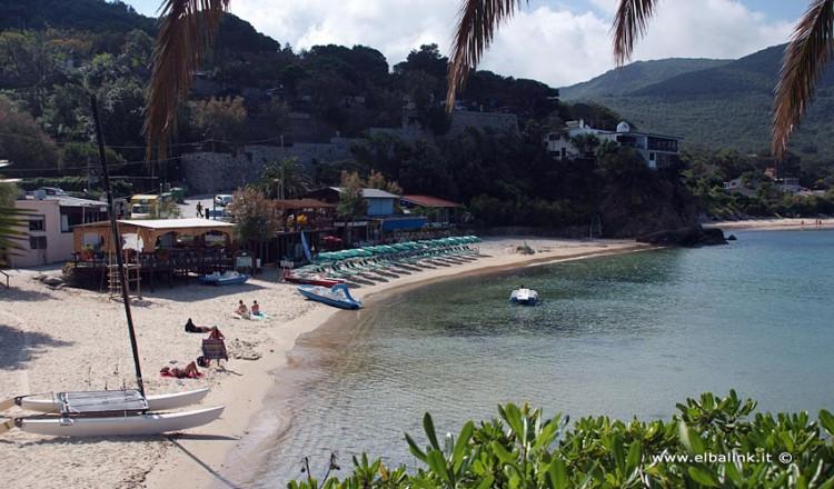 Spiaggia di Scaglieri - Isola d'Elba