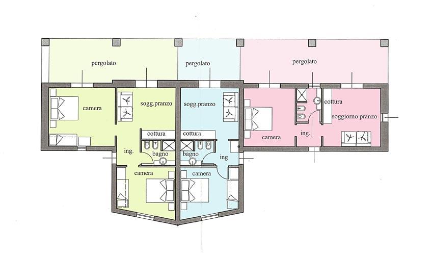 Appartamenti Villetta ai Peri, Elba