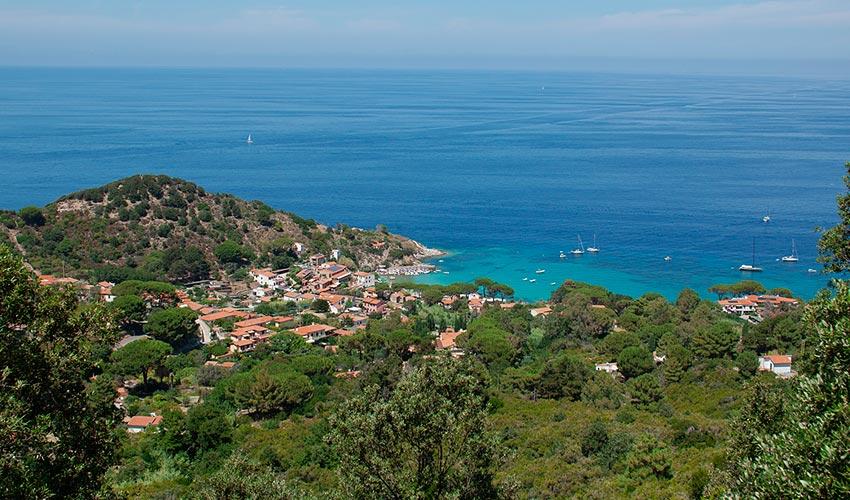 Villa dei Limoni, Elba