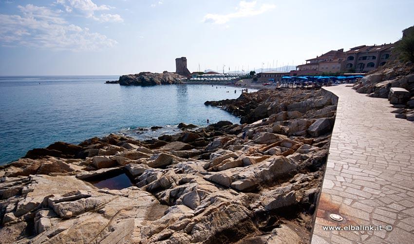 Spiaggia della Fenicia, Elba