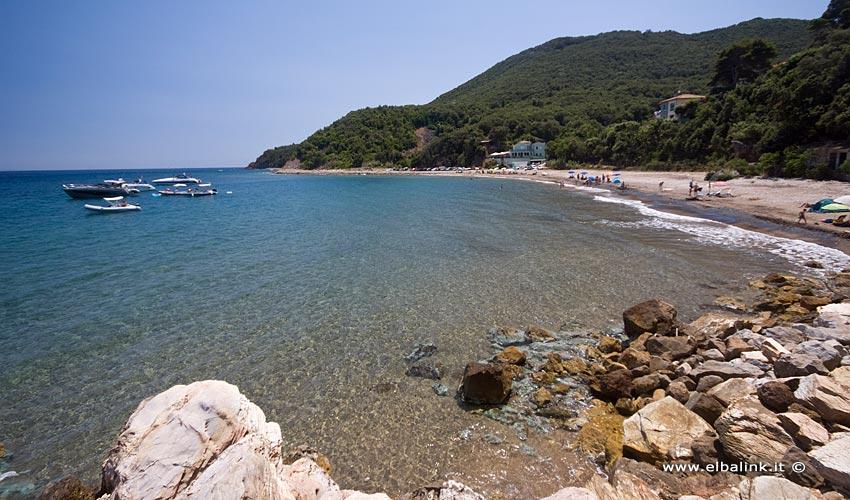 Spiaggia delle Fornacelle, Elba