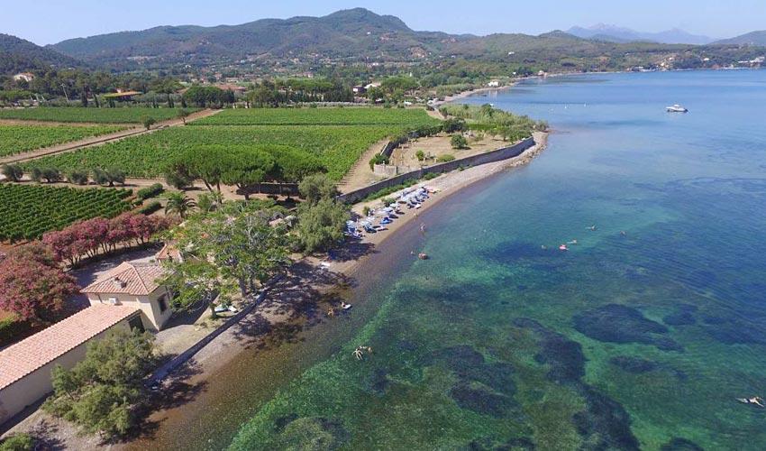 Spiaggia di Magazzini, Elba