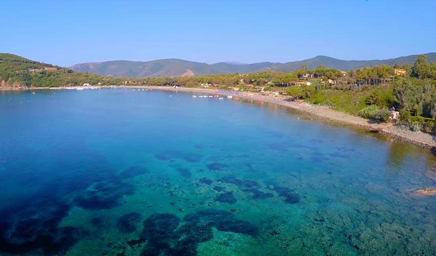 Spiaggia di Margidore, Elba