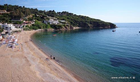 Spiaggia di Pareti, Elba