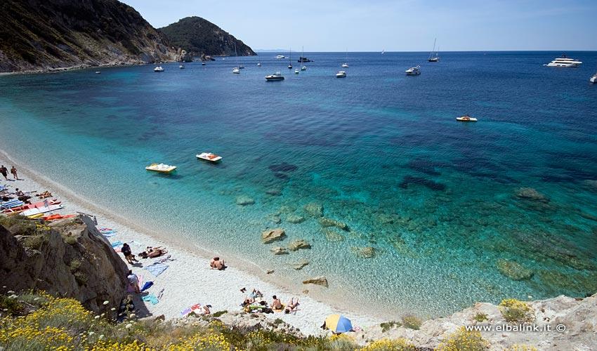 Spiaggia di Sansone, Elba