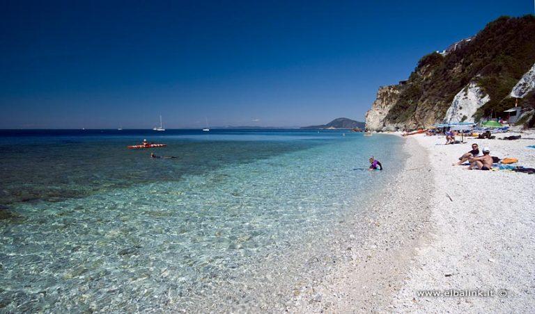 Spiaggia di Sottobomba, Elba