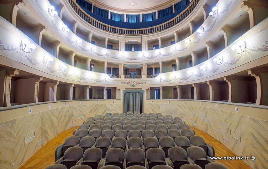 Teatro dei Vigilanti a Portoferraio, Elba